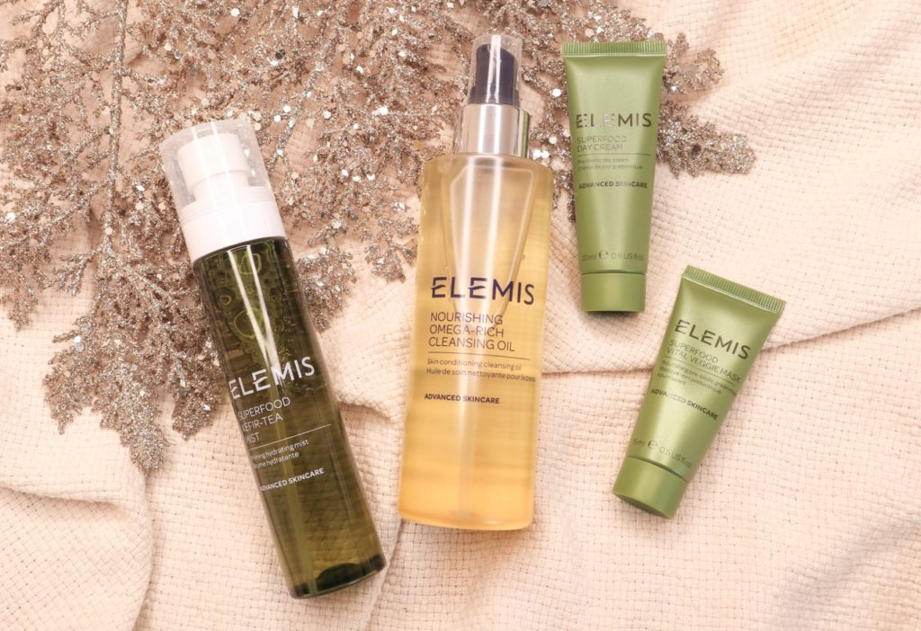 Beauty Bay holiday gift guide 2019 ELEMIS Superfood Skin Feast content