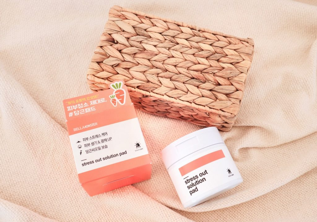 Bellamonster Stress Out Solution Pad Korean beauty review