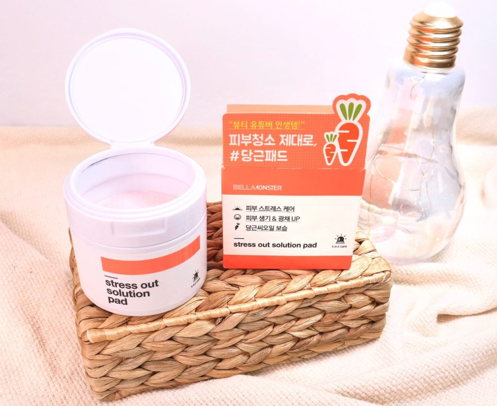 Bellamonster Stress Out Solution Pad K-beauty review