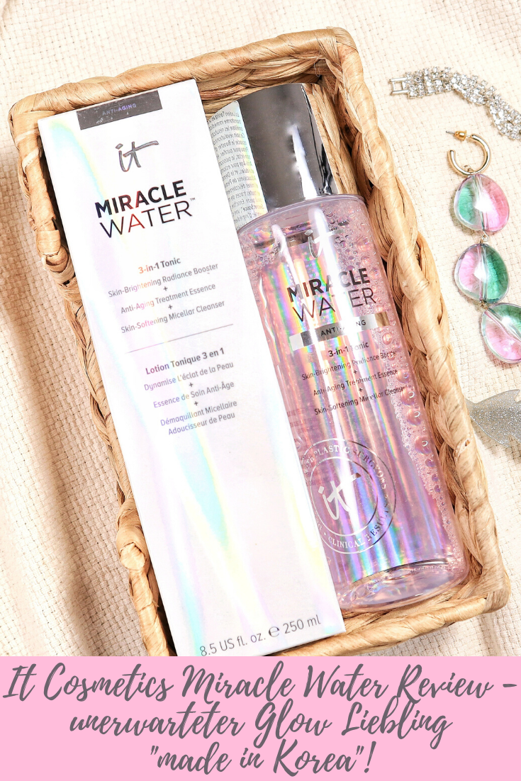 It Cosmetics Miracle Water Review - unerwarteter Glow Liebling