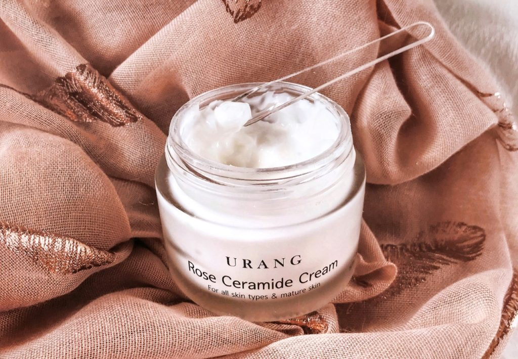 K-beauty favourites 2019 URANG Rose Ceramide Cream