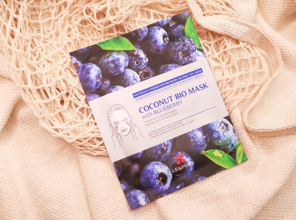 Leaders Coconut Bio Mask Blueberry