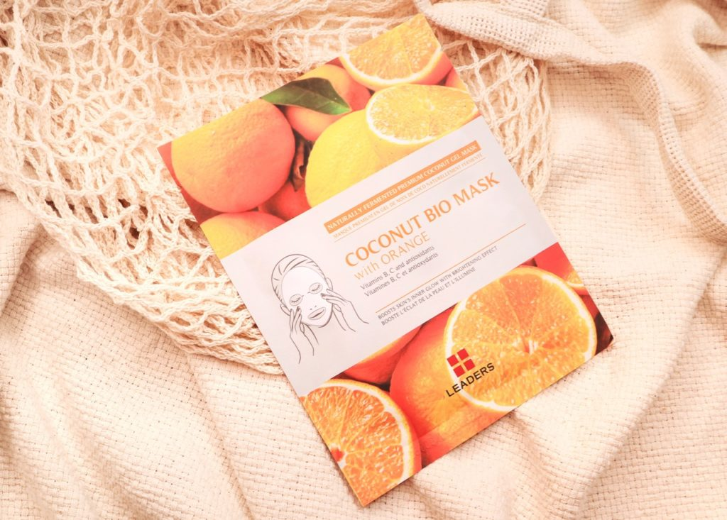 Leaders Coconut Bio Mask Orange