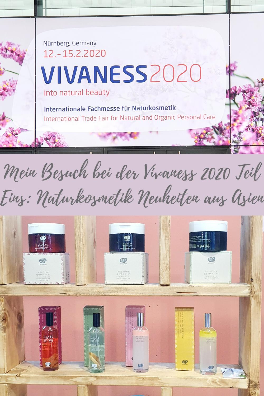 Mein Vivaness 2020 Besuch Teil I: Naturkosmetik Neuheiten aus Asien!