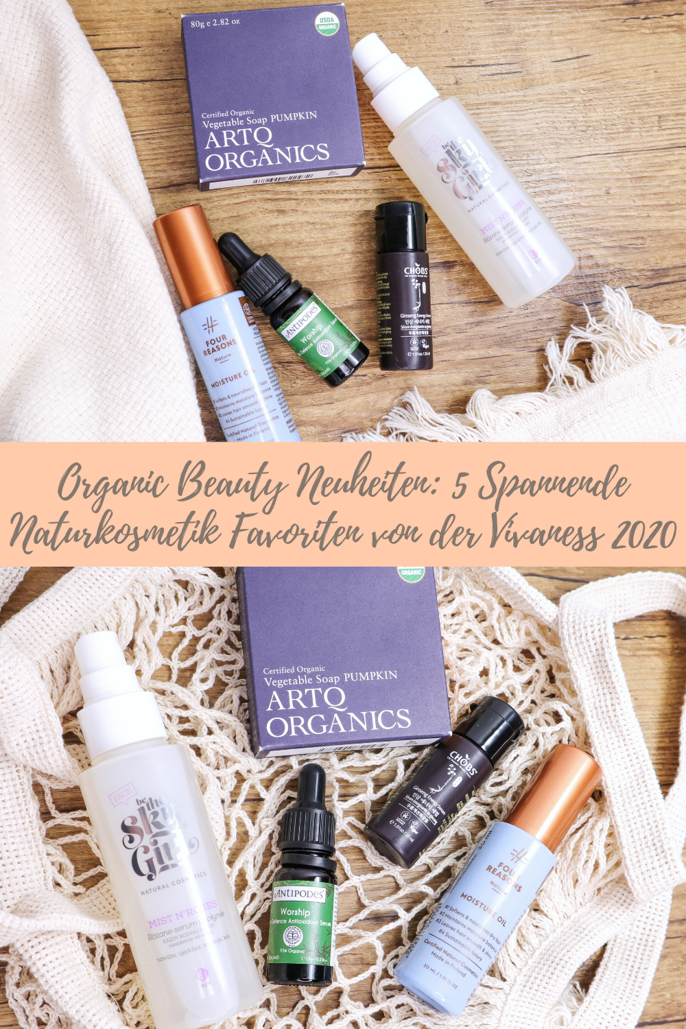 Organic Beauty: 5 Spannende Naturkosmetik Favoriten der Vivaness 2020