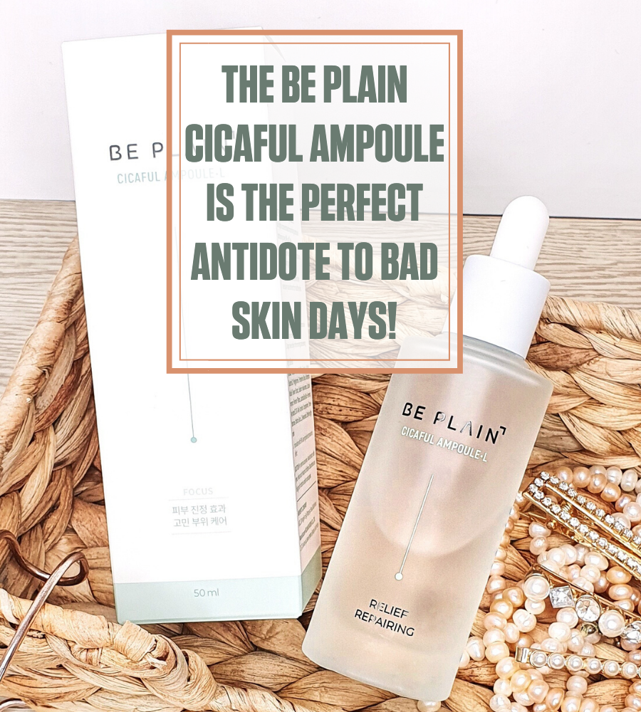 Be Plain Cicaful Ampoule review