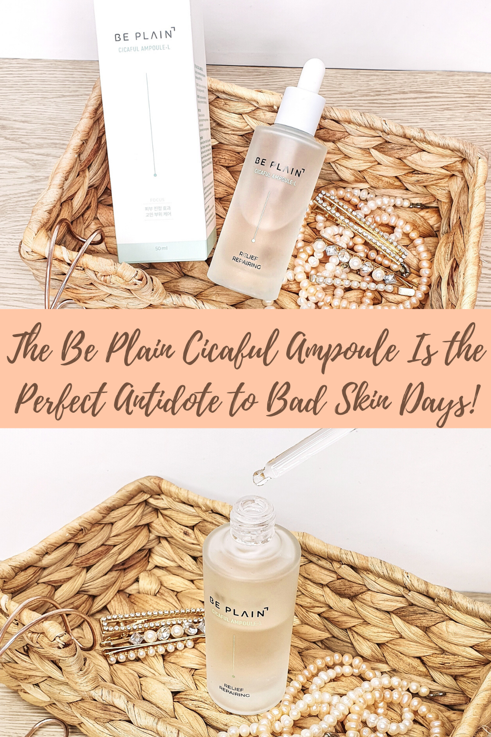 The Be Plain Cicaful Ampoule Is the Perfect Antidote to Bad Skin Days!