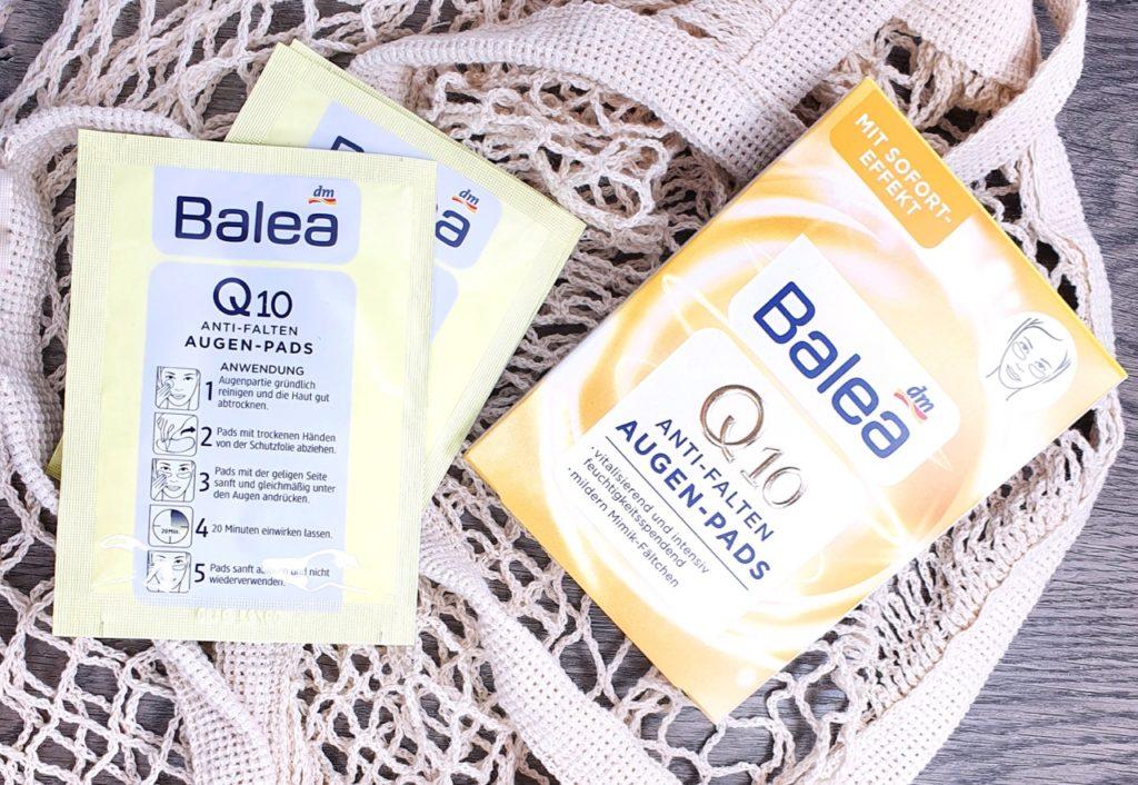 Top 5 Balea Lieblinge: Balea Q10 anti Falten Augen Pads