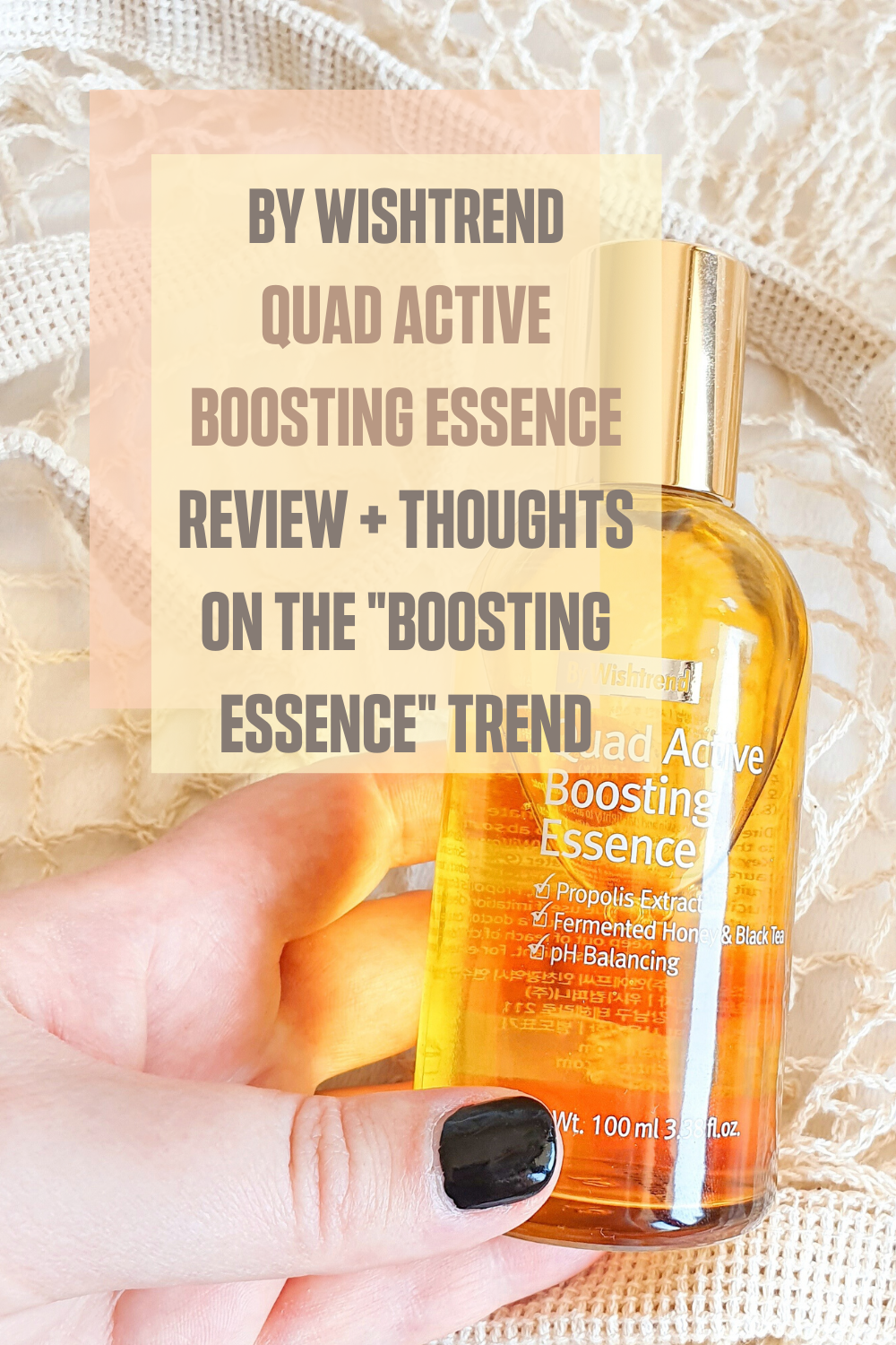 By Wishtrend Quad Active Boosting Essence Review