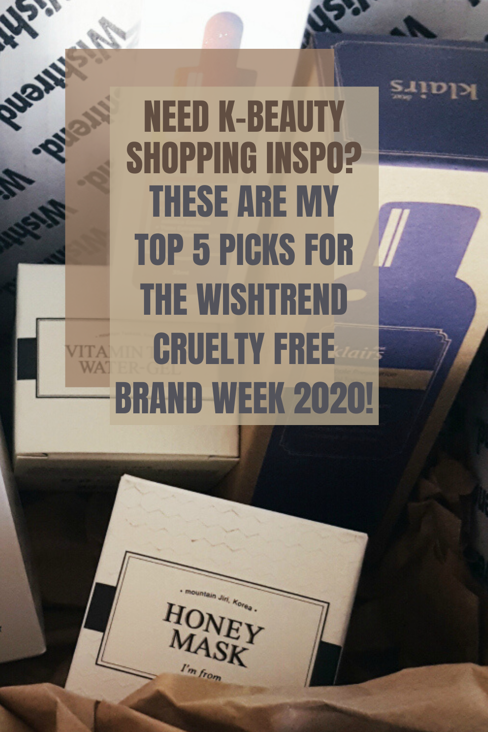 My TOP 5 Picks for the WISHTREND Cruelty Free Brand Week 2020!