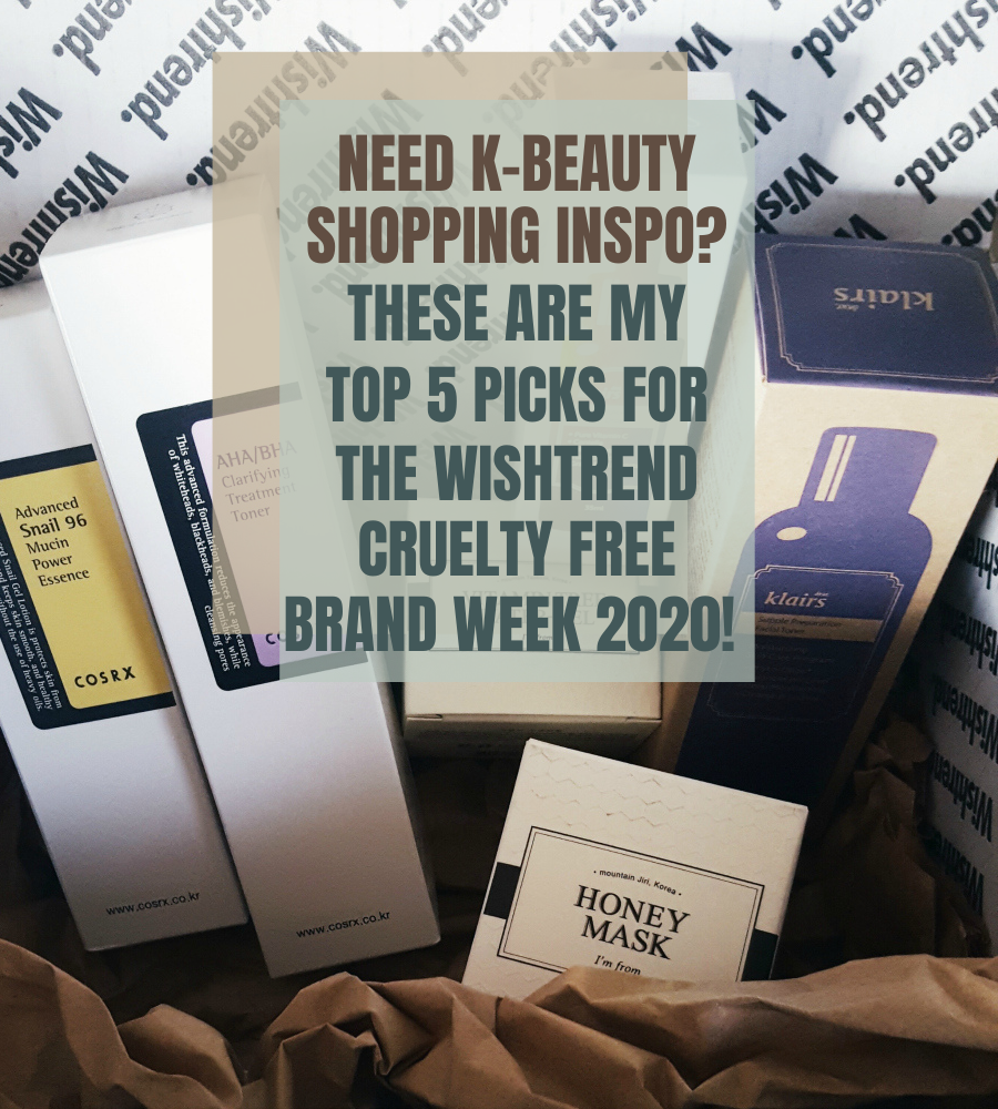 Wishtrend Cruelty Free Brand Week 2020