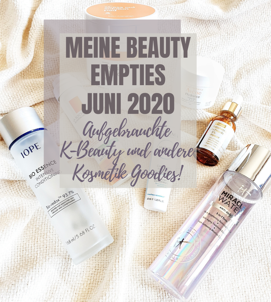 Meine Beauty Empties Juni 2020