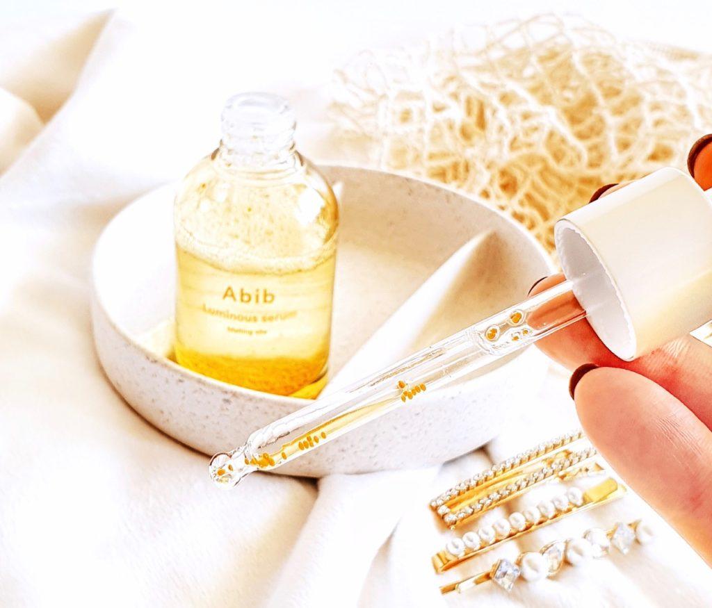 ABIB Luminous Serum Melting Vita texture