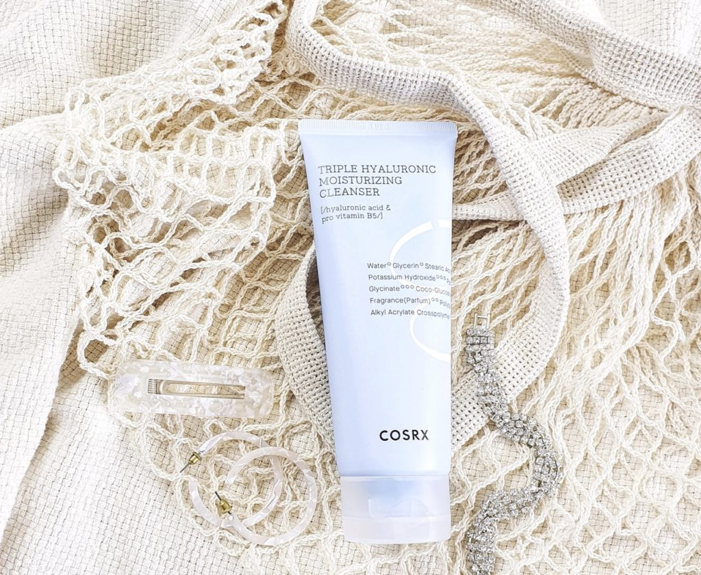 COSRX Hydrium Triple Hyaluronic Moisturizing Cleanser