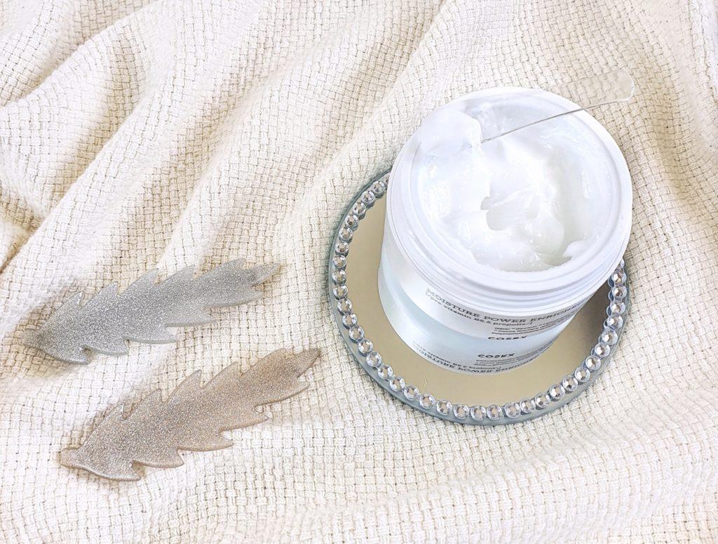 COSRX Hydrium Moisture Power Enriched Cream texture