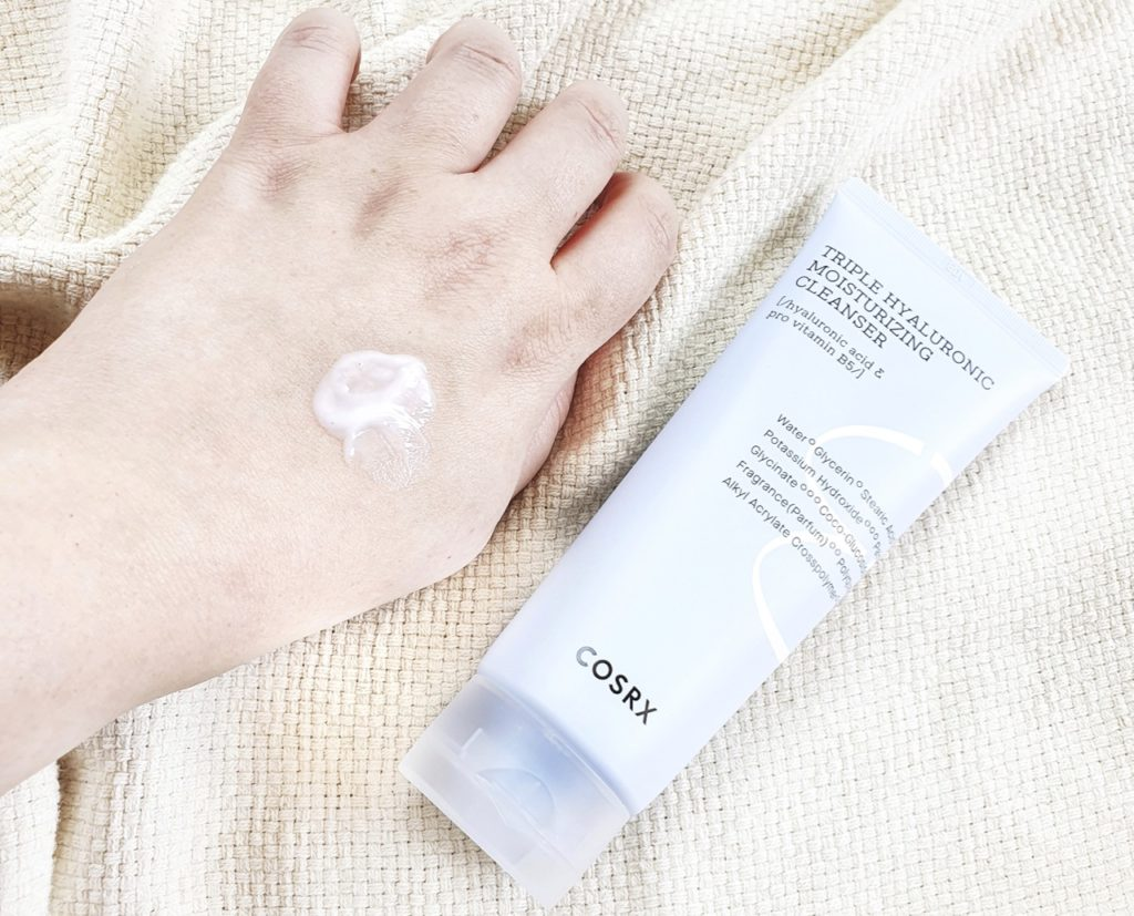 COSRX Triple Hyaluronic Acid Moisturizing Cleanser review