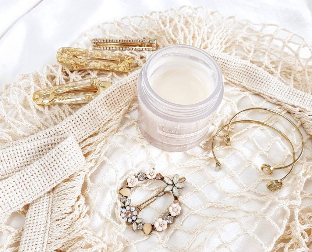K-beauty summer routine: Klairs Fundamental Water Gel Cream