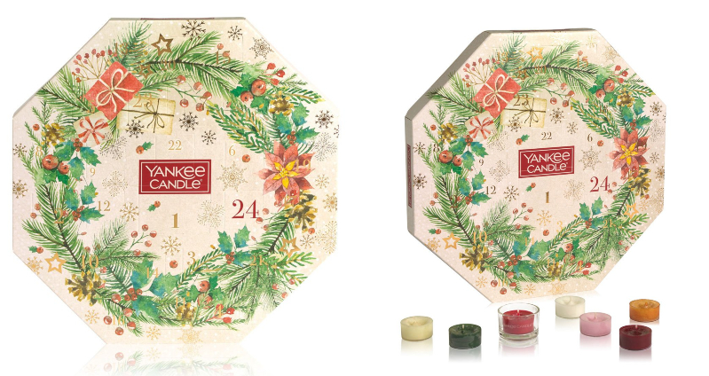 Yankee Candle Adventskalender 2020 Advent Wreath Inhalt
