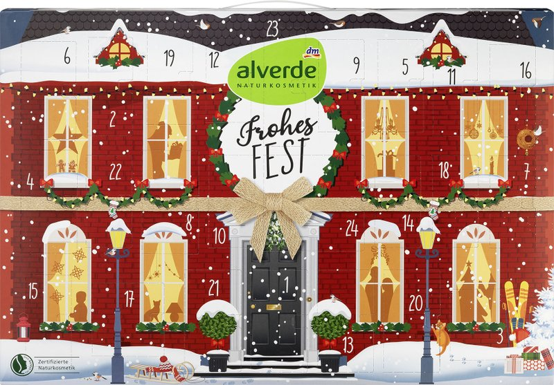 alverde Adventskalender 2020 Inhalt