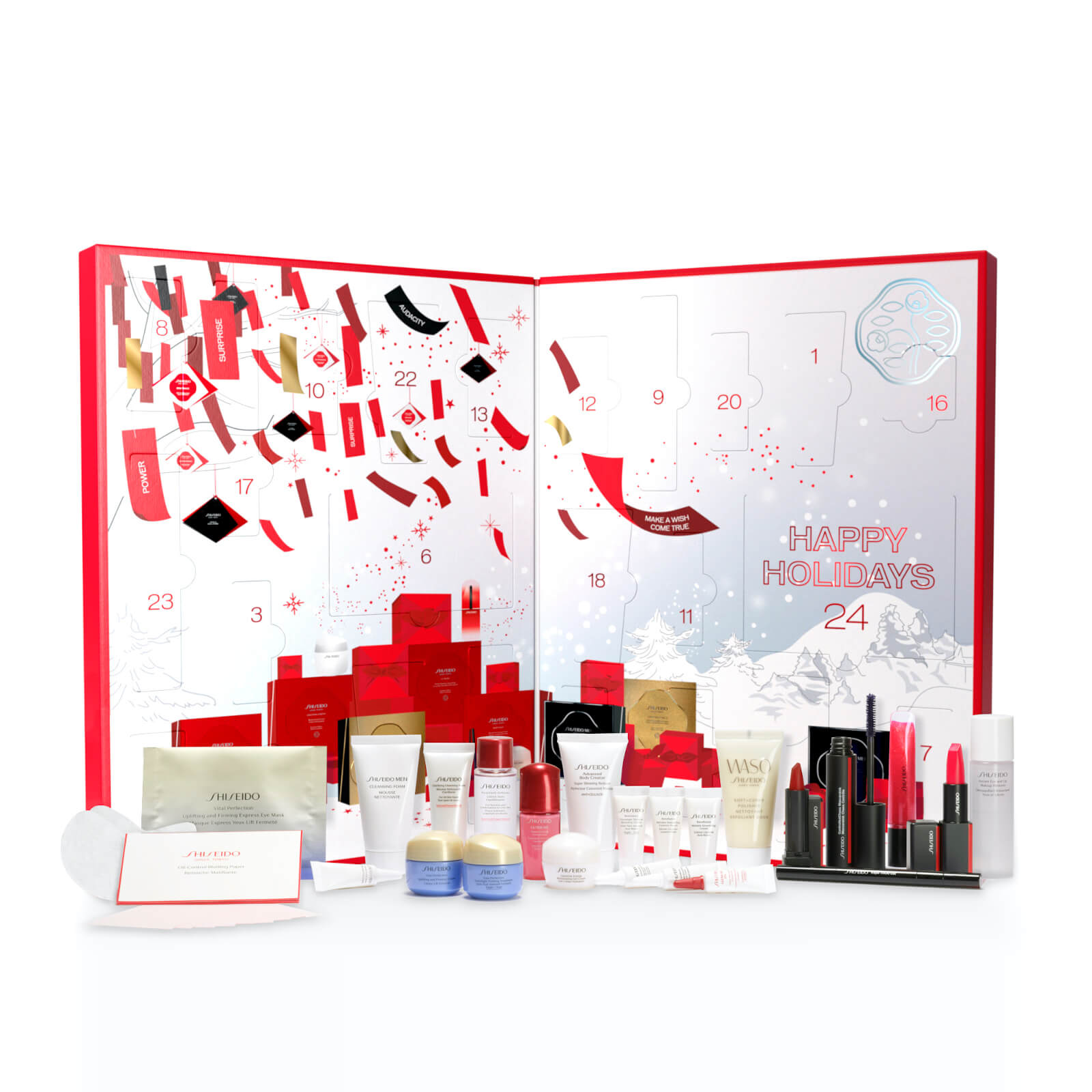 Shiseido Adventskalender 2020 Inhalt