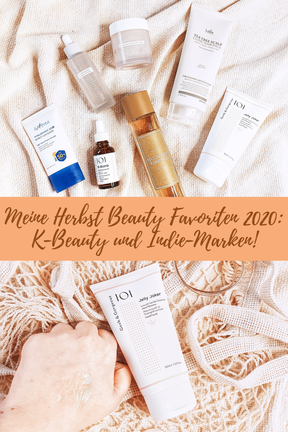 Meine Herbst Beauty Favoriten 2020: K-Beauty und Indie-Marken