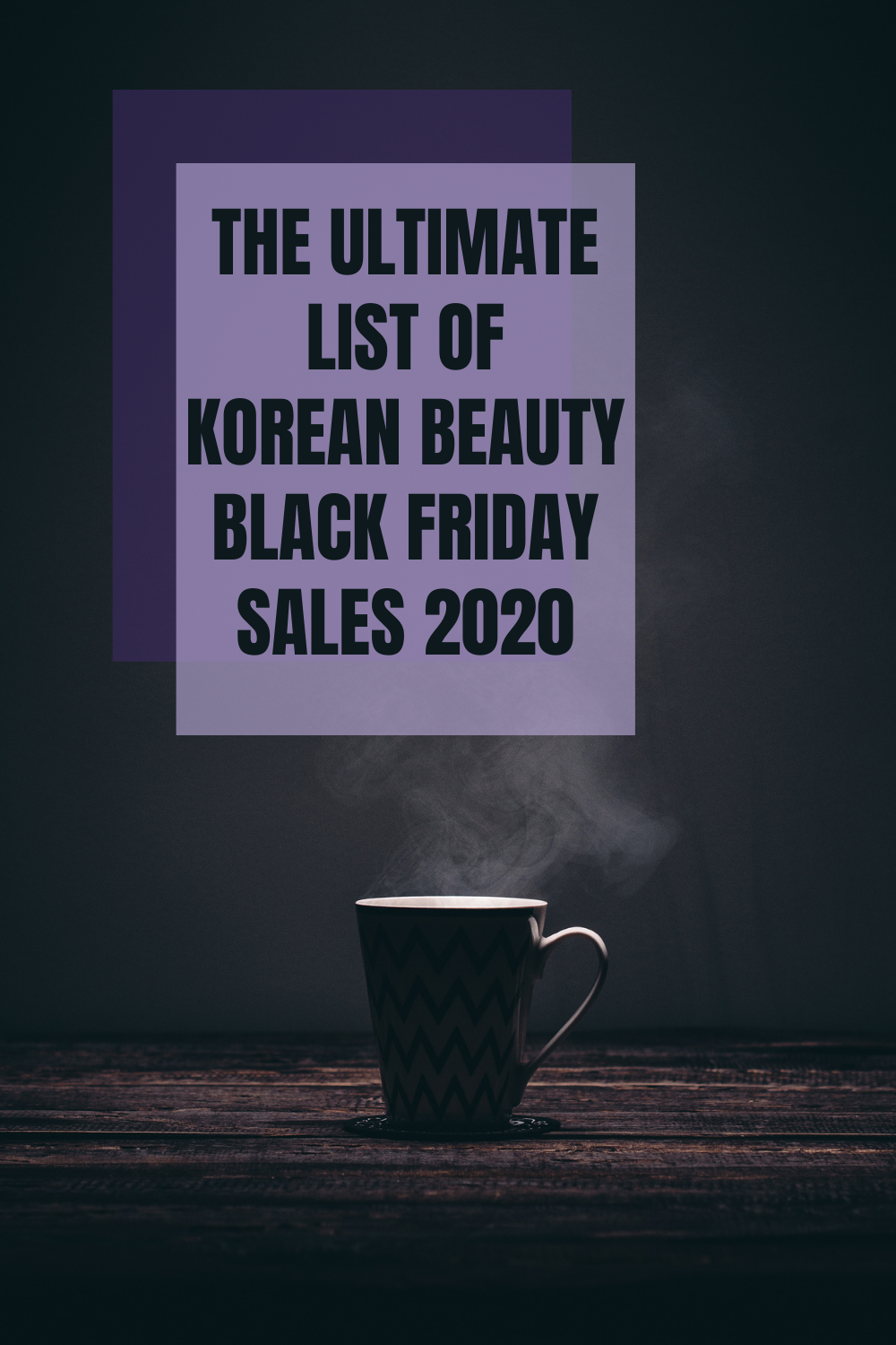 Korean Beauty Black Friday Sales 2020 List