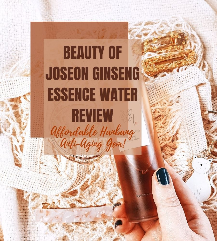 Beauty of Joseon Ginseng Essence Water review