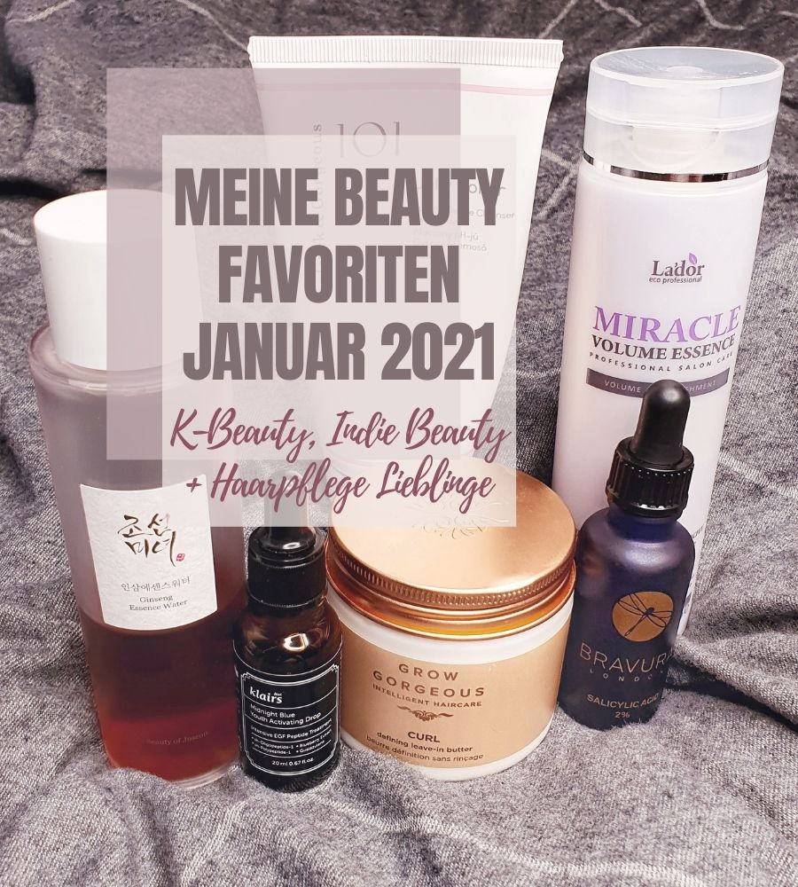 Meine Beauty Favoriten Januar 2021