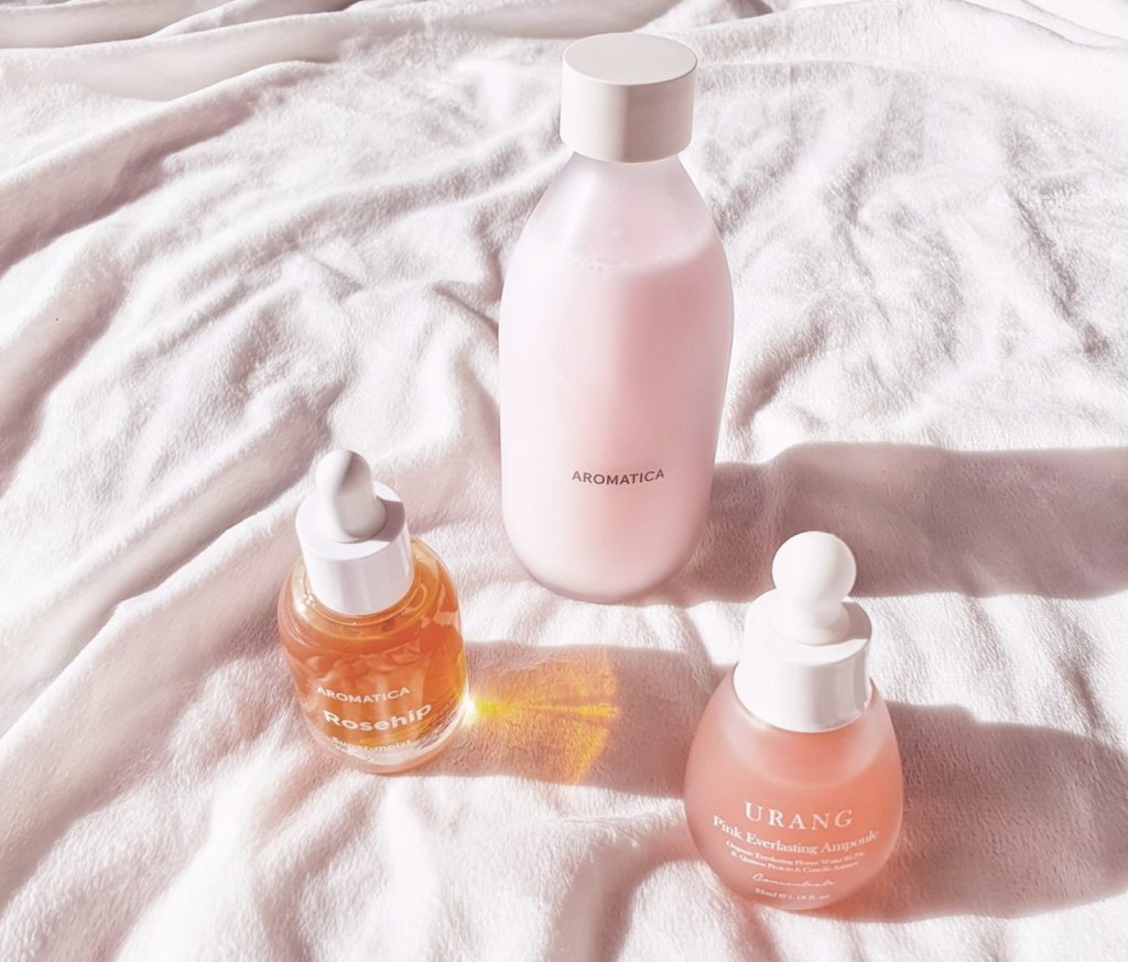 Aromatica Reviving Rose Infusion Treatment Toner routine