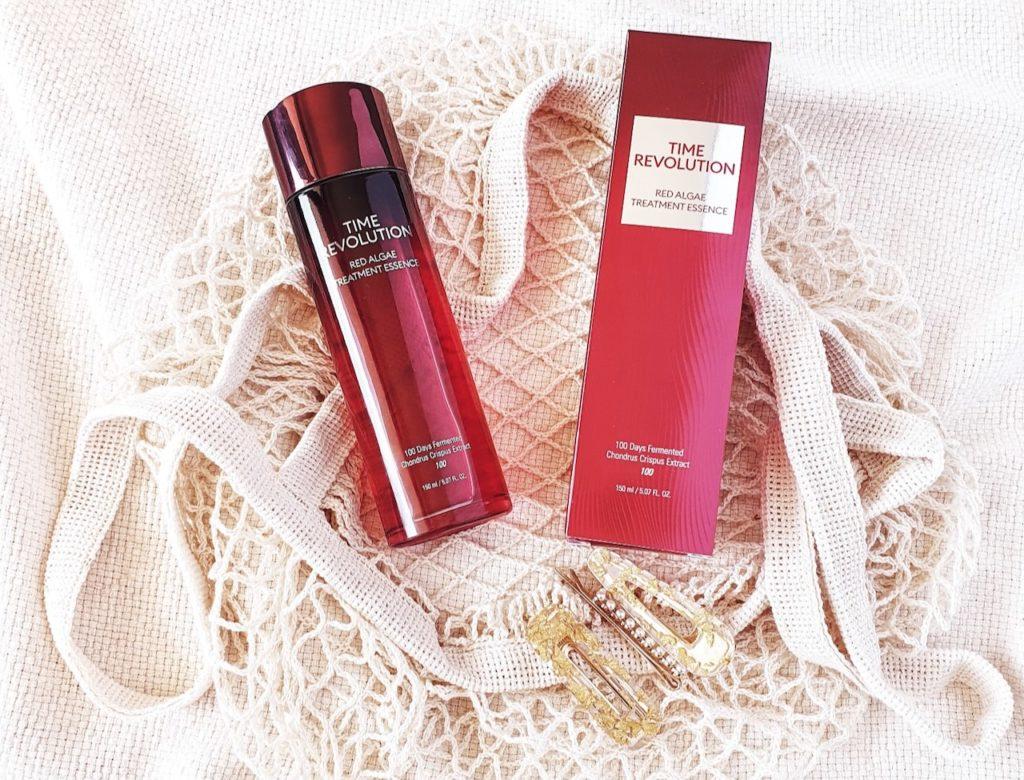 Missha Time Revolution Red Algae Treatment Essence K-beauty review