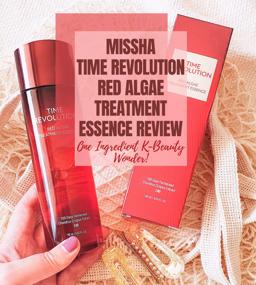 Missha Time Revolution Red Algae Treatment Essence review