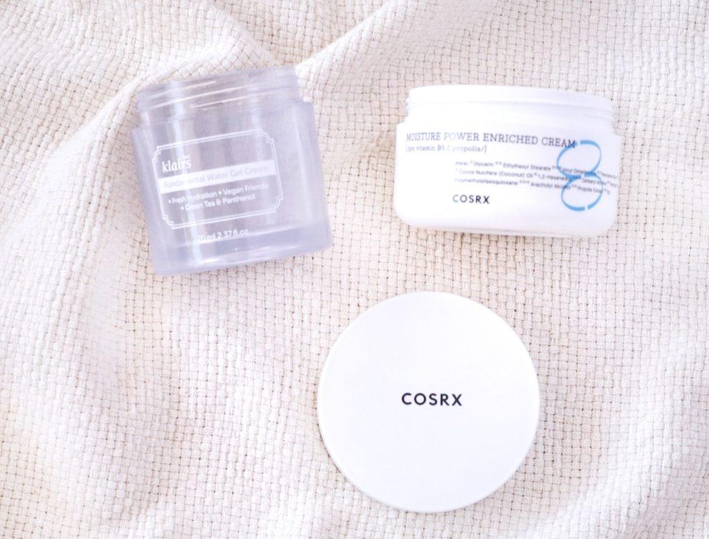 Beauty Empties April 2021 - moisturisers