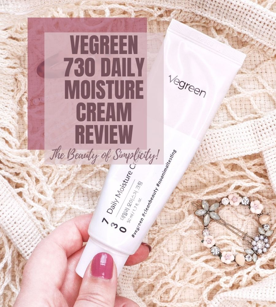 Vegreen 730 Daily Moisture Cream Review