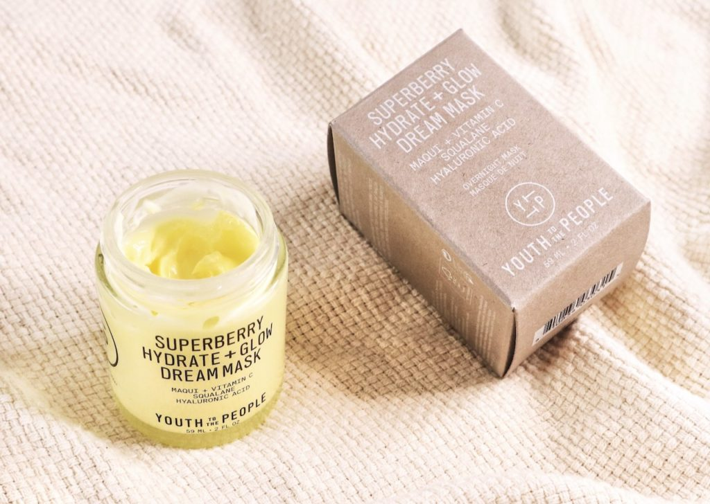 Youth To The People Superberry Hydrate + Glow Dream Mask blog review