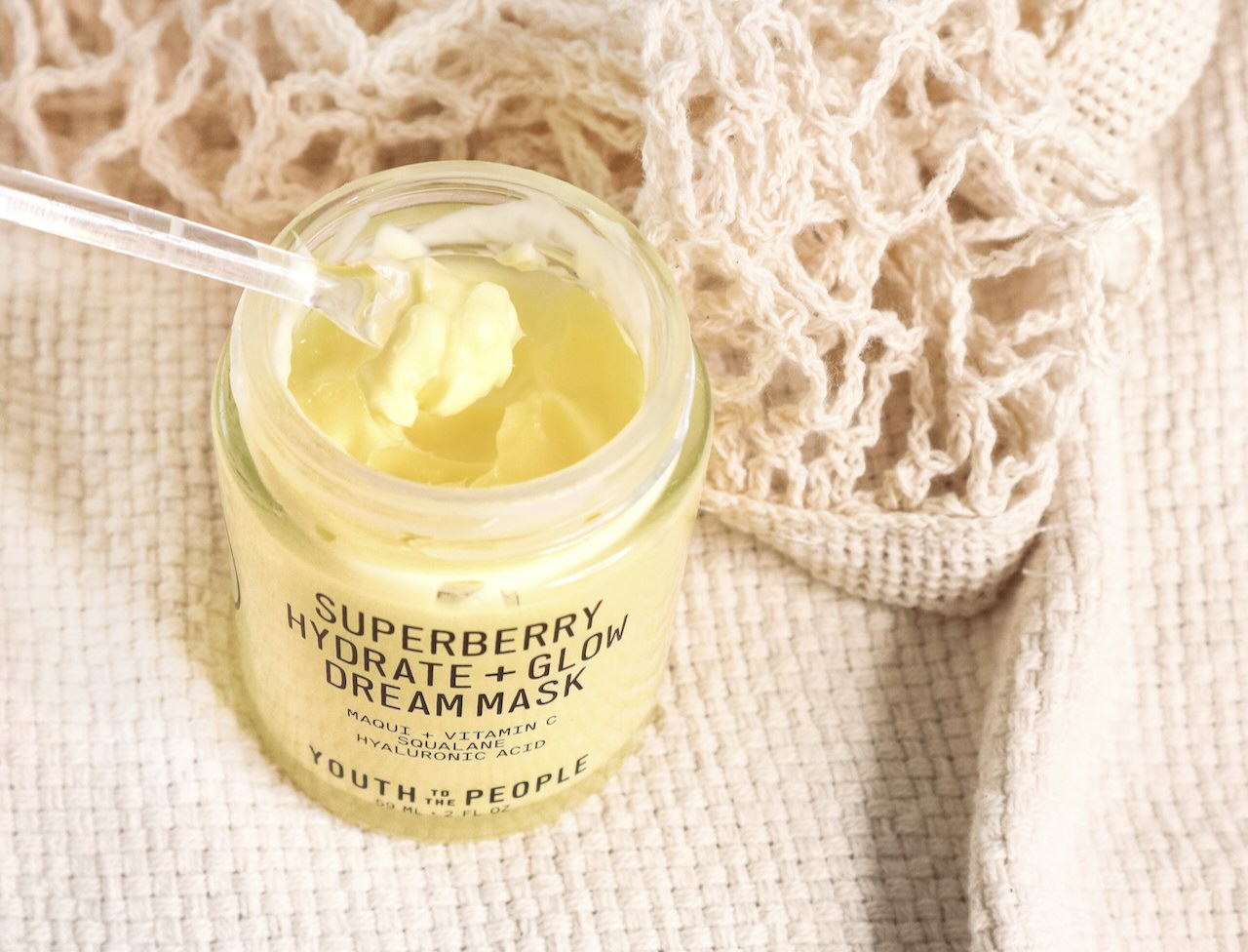 Youth To The People Superberry Hydrate + Glow Dream Mask ingredients