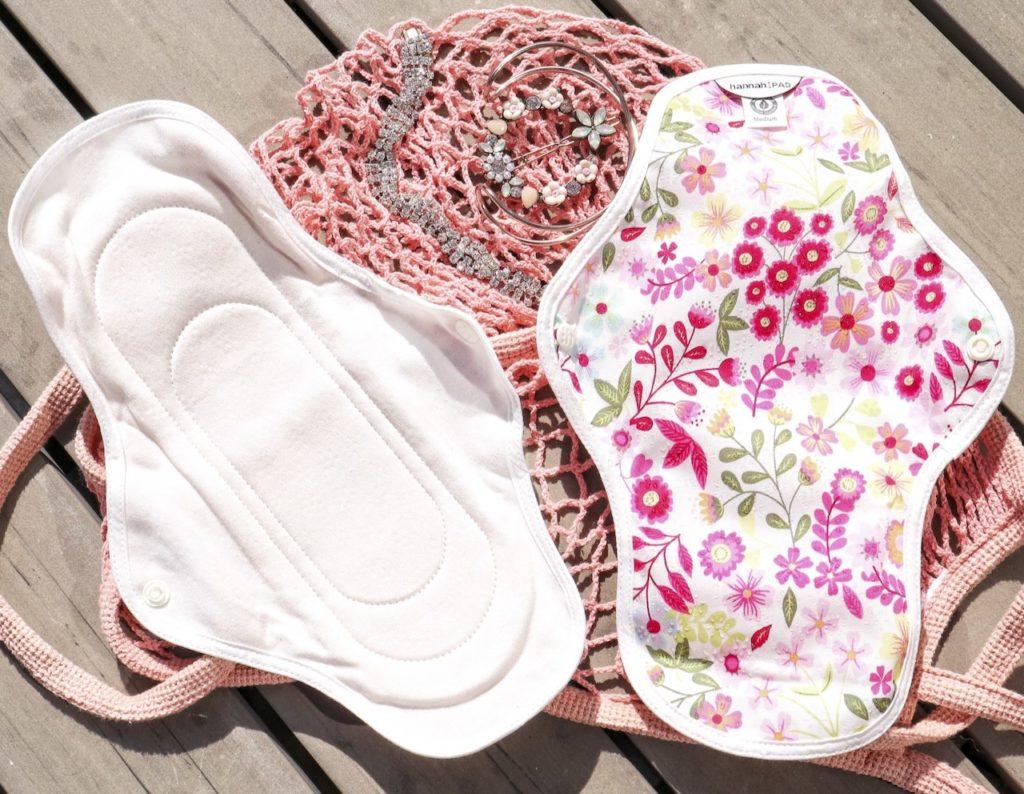 The Brand Hannah organic reusable pads medium review